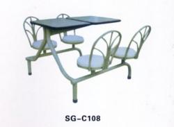 白山餐桌椅